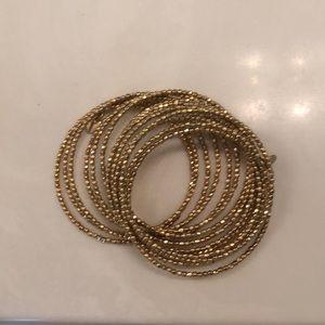 Stella & Dot Bardot bracelet gold